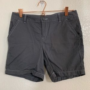 Columbia | Girls Gray Cotton Shorts - Size 14/16
